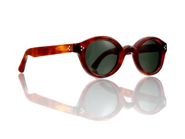 Lesca Lunetier • La Corb's • Sonnenbrille • Col. 053 • Kunststoff - graugrün 85%