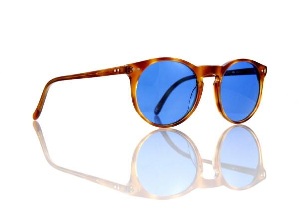 Lesca Lunetier Mod. P 9 Sonne Col. 5 Größe 50-22 - 145 mm Kunststoff blau 70%