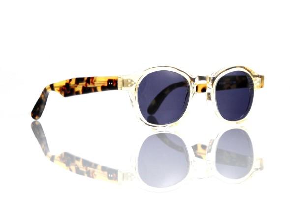 Lesca Lunetier Mod. P.080 Sonne Col. S186 Größe 44-22 - 145mm Kunststoff blaugrau 85%