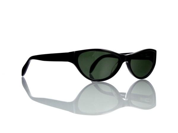 "Lesca Lunetier Mod. P 50 ""Original Vintage"" Col.100 grau grün G15 85% Kunststoff"