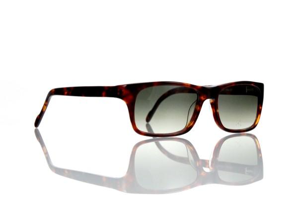 "Lesca Lunetier Mod. Sunny Sonne ""Original Vintage"" Col. 424 grau grün verlauf Kunststoff"