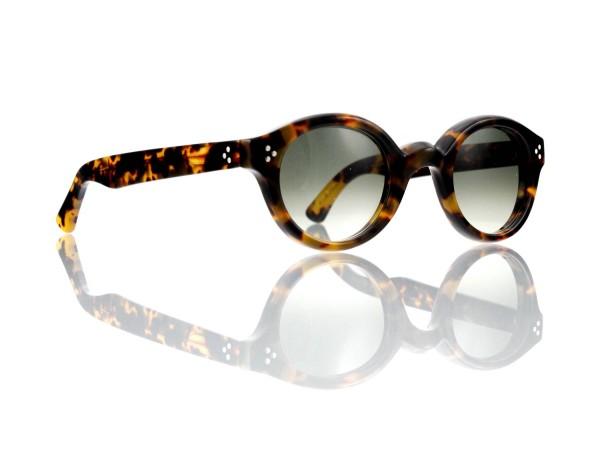 Lesca Lunetier • La Corb's • Sonnenbrille • Col. 827 • Kunststoff graugrün verlauf ~80-20%