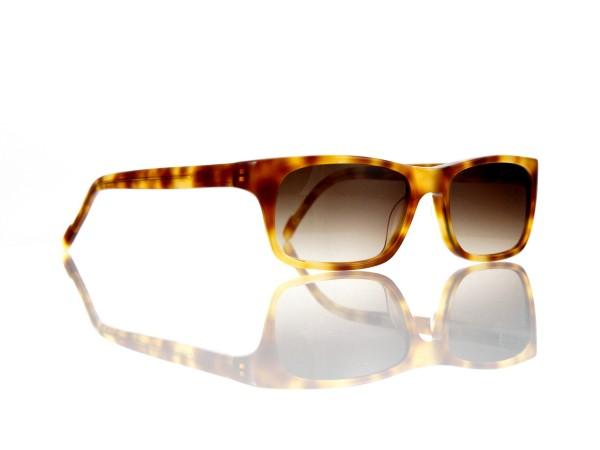 "Lesca Lunetier Mod. Sunny Sonne ""Original Vintage"" Col. 053 braun verlauf Kunststoff"