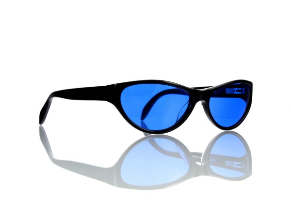 "Lesca Lunetier Mod. P 50 ""Original Vintage"" Col.100 blau ~70% Kunststoff 100% UV Schutz"
