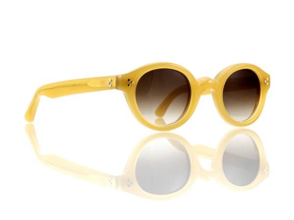 Lesca Lunetier • La Corb's • Sonnenbrille • Col. 17 • Kunststoff braun verlauf ~80-20%
