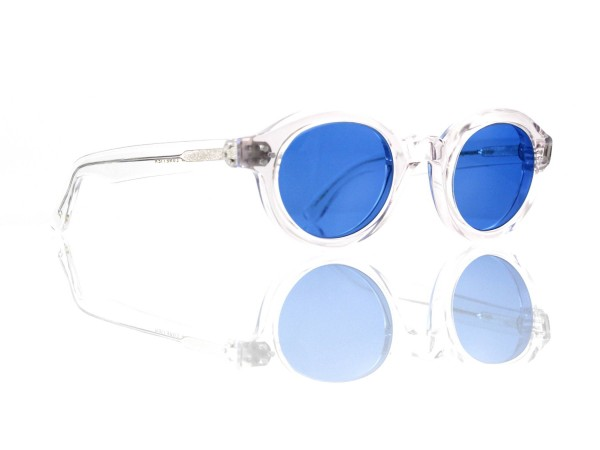 Lesca Lunetier • La Corb's • Sonnenbrille • Col. Crystal • Kunststoff blau 70%